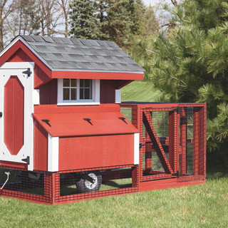 chicken-coop-tractor-4x4-tractor-painted