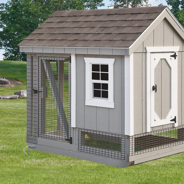 chicken-coop-and-run-Light-Gray-A46C-Fro