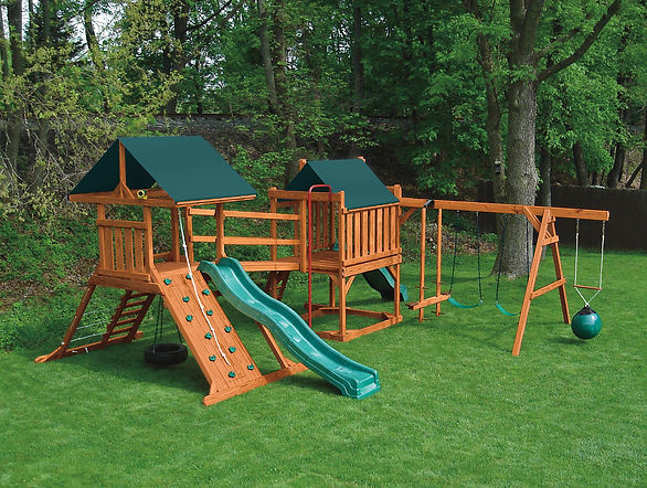 outdoor swingset sold by lakeside trading