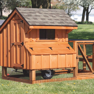 chicken-coop-tractor-4x4-tractor-stained
