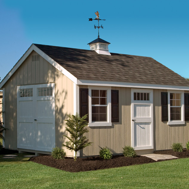 Cape Cod shed.