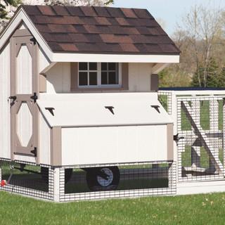 chicken-coop-tractor-3x4-tractor-painted