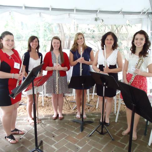 Regina with CSU students in beatiful Charleston, SC!