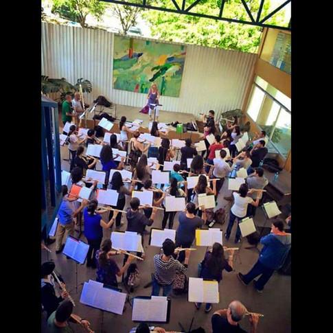 Regina teaching in Costa Rica!