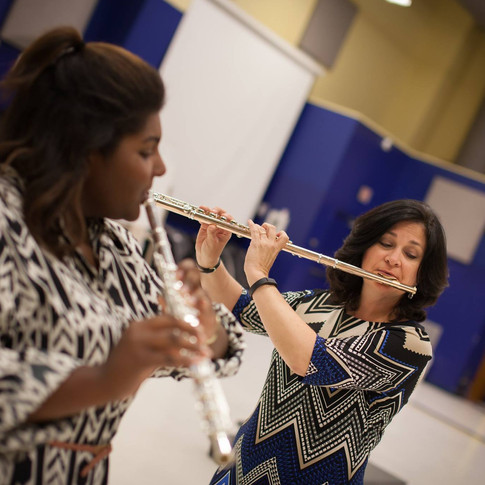 Playing duets with students