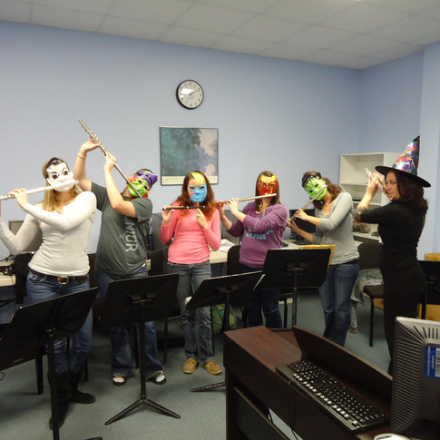 Flute Fun at Halloween!