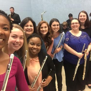 Charleston Southern University Flute Choir