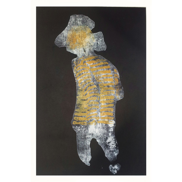 Woodcut/monoprint 56x76 cm