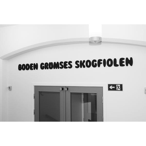 BODEN GRUMSES SKOGFIOLEN
