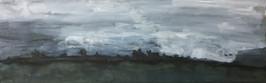 Dartmoor, Landscape in the fog 02