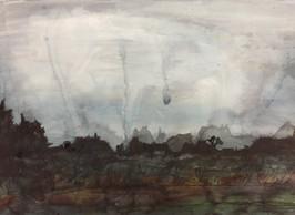 Dartmoor - Landscape in the Fog 03