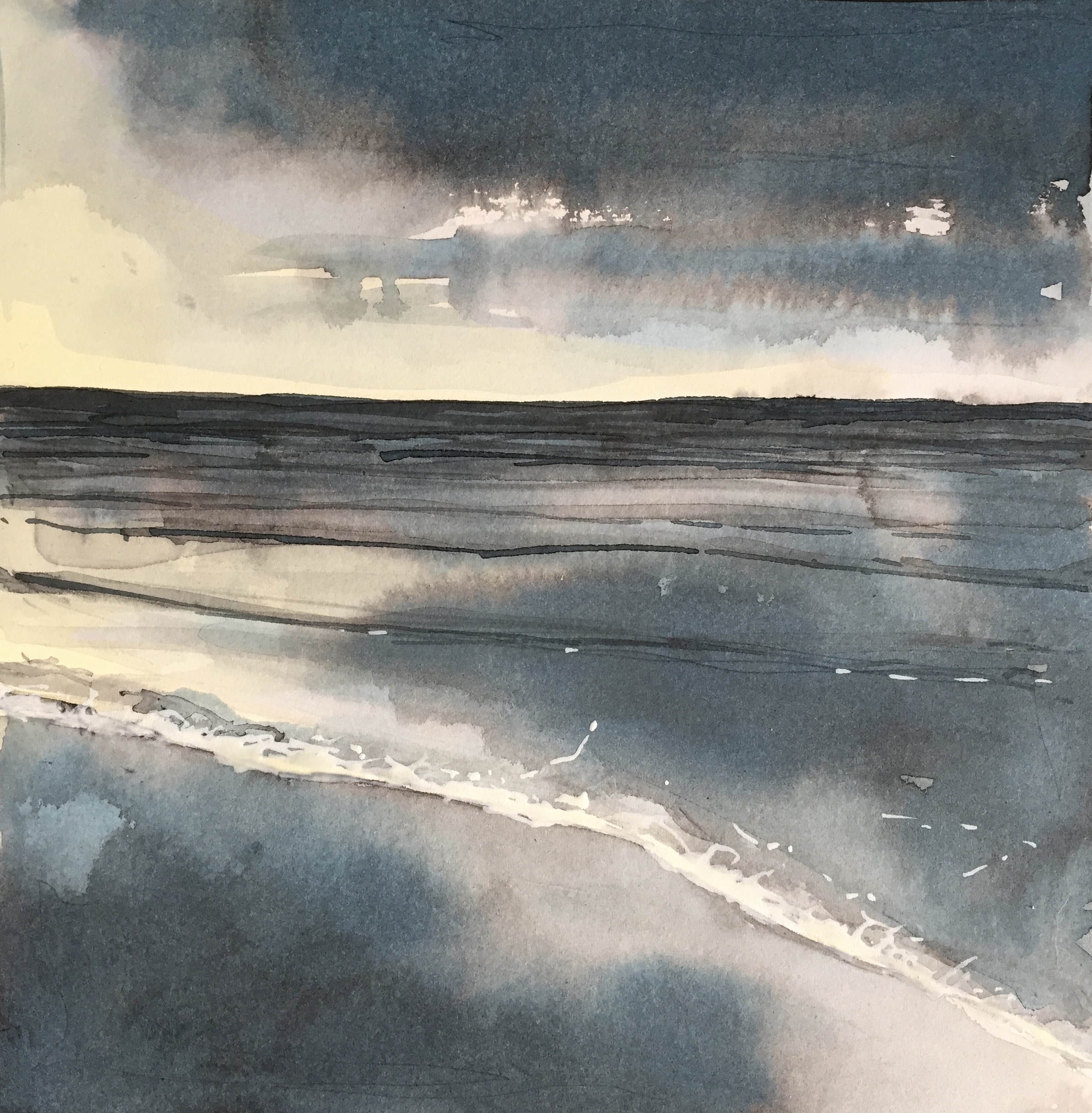 Saunton Sands, all flat Winter Light