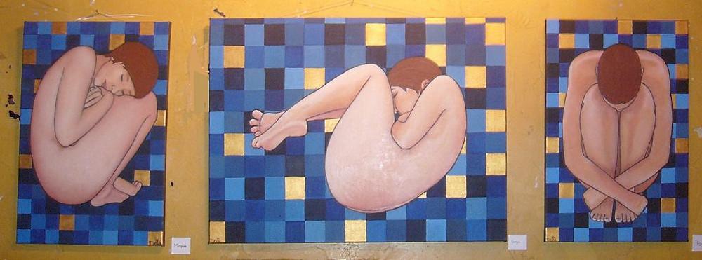 """""""les douces endormies"""" Melle. Artiste Grenoble"""