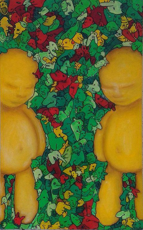 Les petites choses - Melle, artiste peintre grenoble