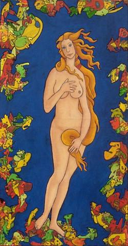 Vénus, Melle. Artiste peintre