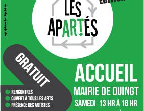 Rencontres artistiques Les Apartés 2016, à St Jorioz et Duingt