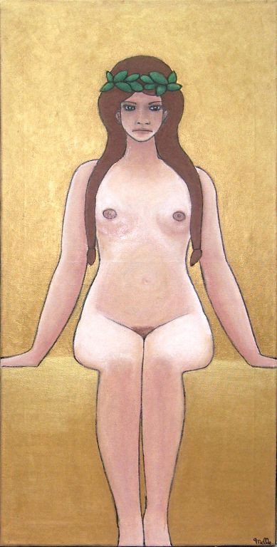 """Julia"" - Melle. Artiste peintre"