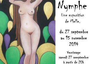 """Exposition """"Paye ta Nymphe"""", du 27 septembre au 15 novembre 2014 à Grenoble"""