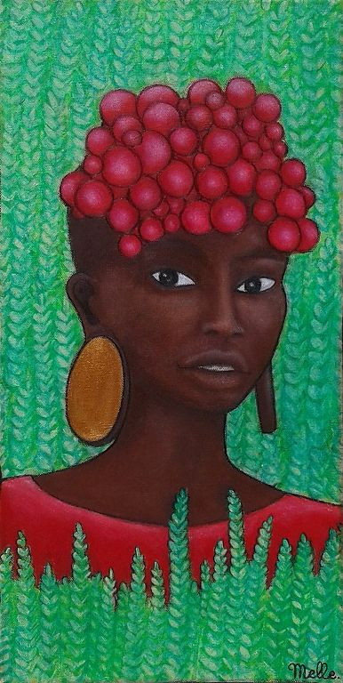 Les fruites rouges, Melle artiste grenoble
