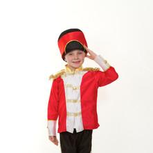 Toy soldier child red black boy panto mi
