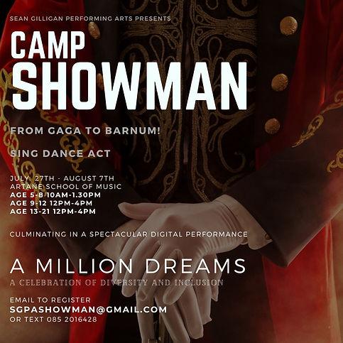 Showman summer camp