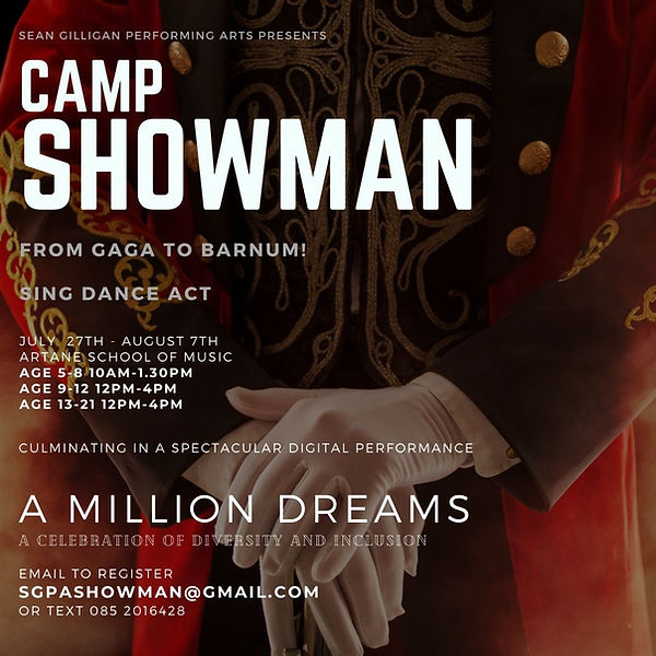 Showman summer camp