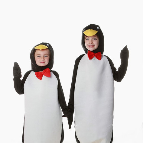 Penguin child adult happy feet  madagasc