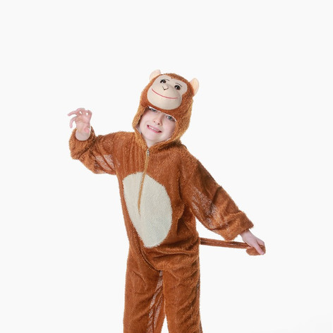 Monkey costume child boy girl jungle boo
