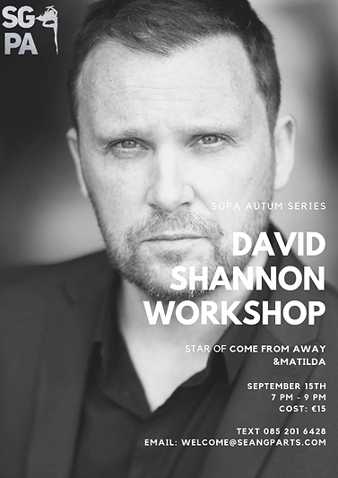 David Shannon workshop