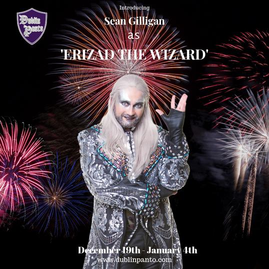 Sean Gilligan as Erizad the Wizard