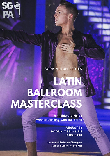 John Edward Nolan Latin Ballroom workshop