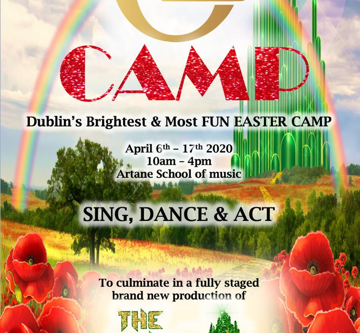 OZ CAMP to fly into Dublin this Easter