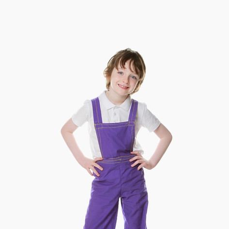 Pirpke dungarees child charloe chocolate