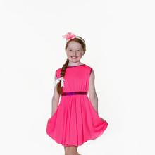 Pink lycra skater dress child.jpg