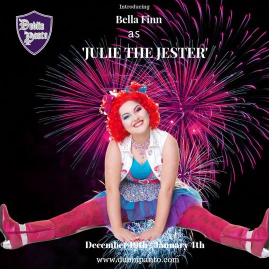 Bella Finn as Julie the Jester