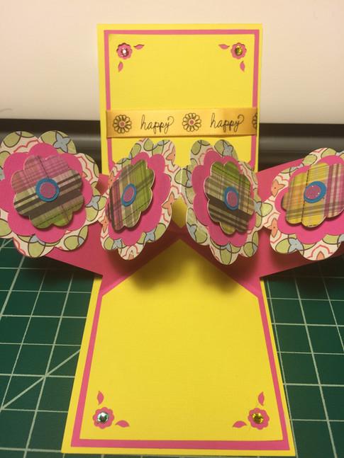 Floral Pop-up Card