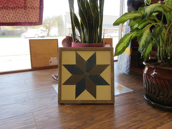 "Tin Man Quilt Block ""12x12"" Picture"