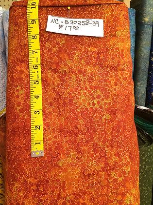 "108"" Wide Backs - Rusts & Oranges"
