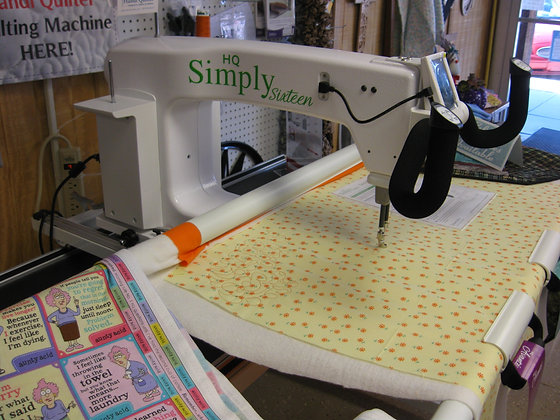 Handi Quilter Machines - Simply 16