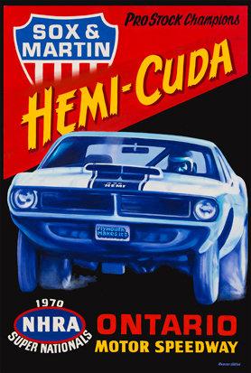 1970 Hemi-Cuda Ontario Motor Speedway