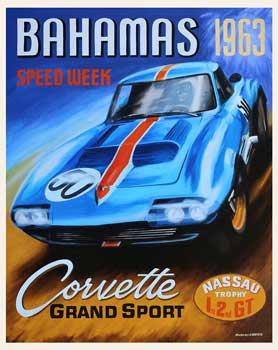 Bahamas Corvette Grand Sport