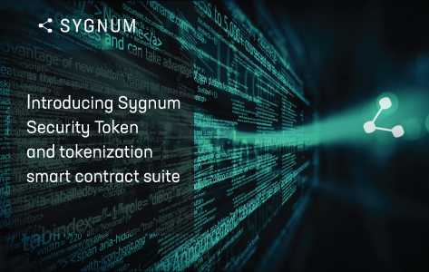 Introducing the Sygnum Security Token and tokenization smart contract suite
