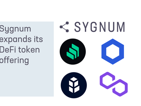 Sygnum expands its DeFi token offering