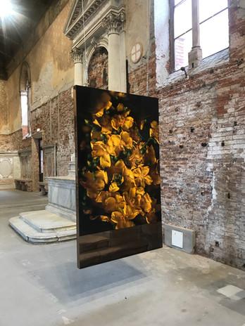 Léon Structure miroir Pièce unique 200x165 cm