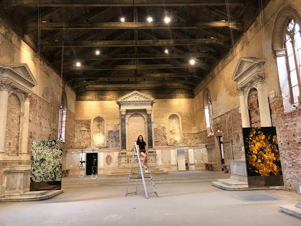 "Chiesetta Della Misericordia  Venezia Italia Exposition ""Cadavre Exquis"" 2021"