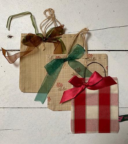 Handmade reusable gift bags