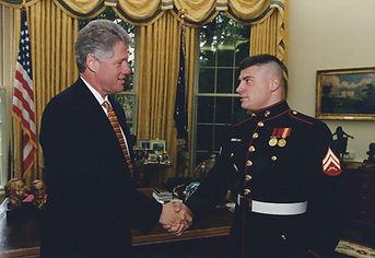 Matt with President Clinton.jpg