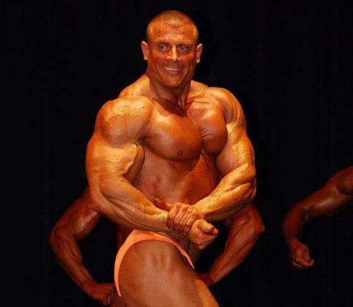 Competing at the 2012 NPC Michigan State Championships.