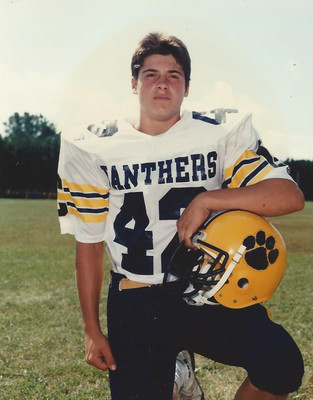 My junior year high school football picture.
