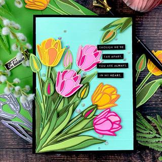 Inlay Tulips | SSS Stylized Tulip Die